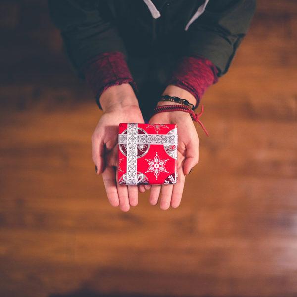 宇宙からのプレゼントを受け取る