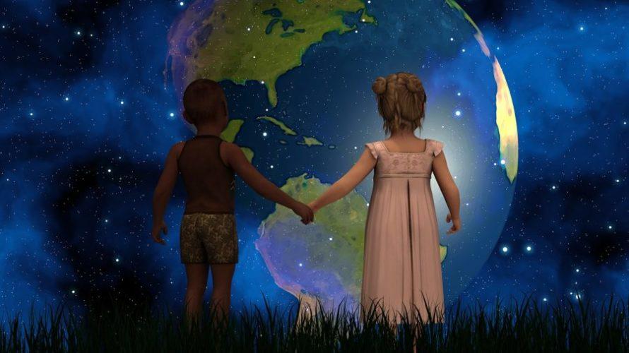 地球の声を聞く。地球という生命体のお話